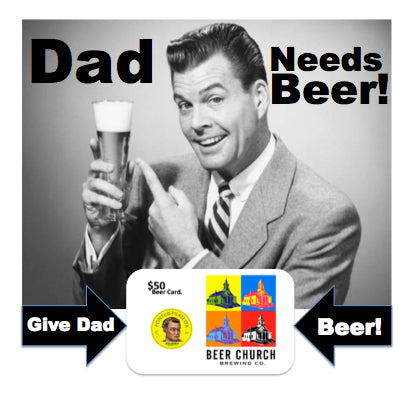 Father's Day Brewery Gift Cards | Buy eGift Card, Send to Dad via eMail