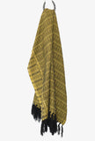 Miners Gold Merida Rebozo Shawl Mexican Blanket