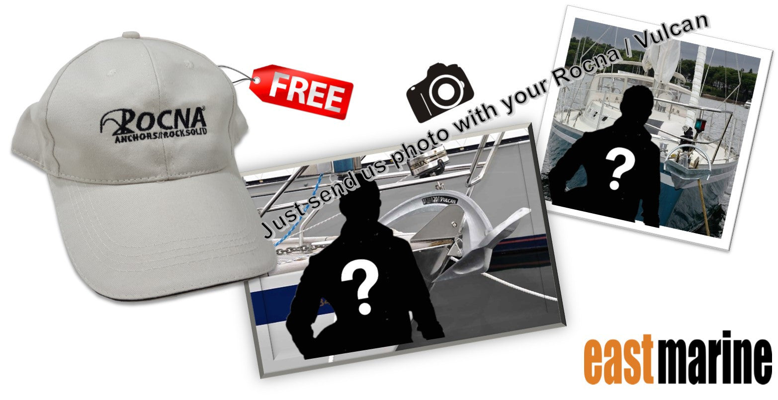 Free Rocna Cap At East Marine