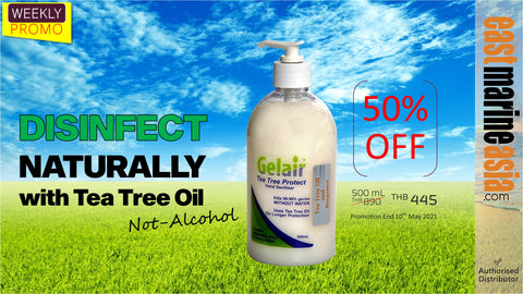 Disinfect Your Hand Naturally with Tea Tree Oil