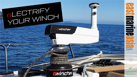 Ewincher Electric Winch @ East Marine Asia