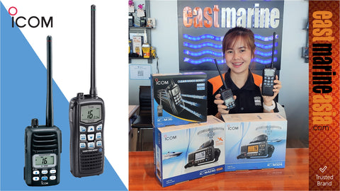 Icom VHF and UHF Fixed and Mobile Unit