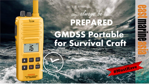 Icom GMDSS GM1600 for Survival Craft VHF Radio