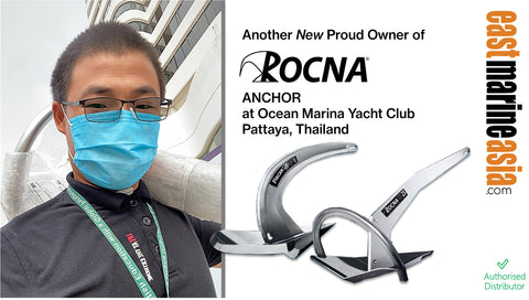 New Proud Owner of Rocna 20 Kg at Ocean Marina Yacht Club