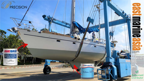 S/Y Lochmarine Done by Precision Shipwright Service