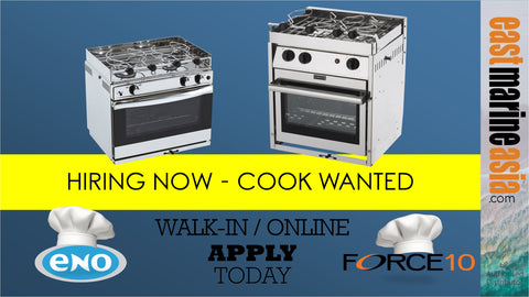 Hiring Now - Cook Wanted