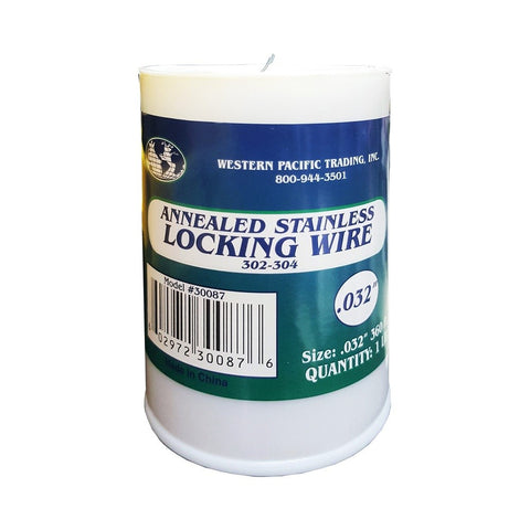 Western Pacific Trading 304 Stainless Steel Seizing / Locking Wire