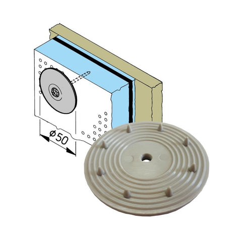 EMA Fixing Disc for Sound Insulation Foam