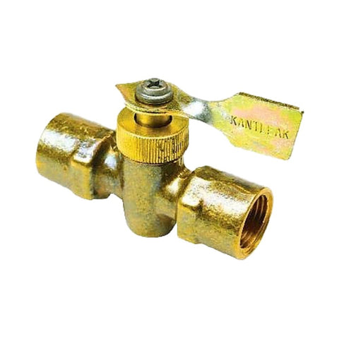 Seachoice Brass 2-way Fuel Line Shut Off Valve