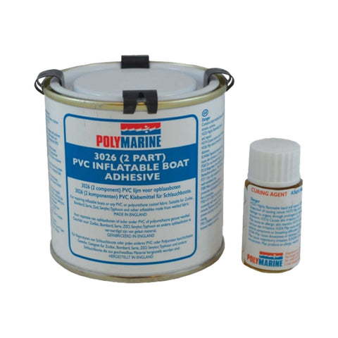 Polymarine 2-Part PVC Inflatable Boat Adhesive