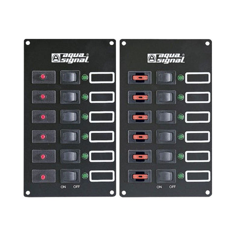 Aqua Signal Control Panel Switch And Fuse Panels