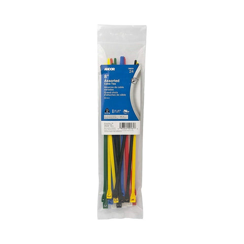 Ancor Cable Tie Kits - Assorted Colours