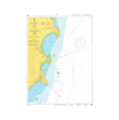 Marine Chart Thailand (Gulf of Thai - West) 224 Prachuap Khirkhan