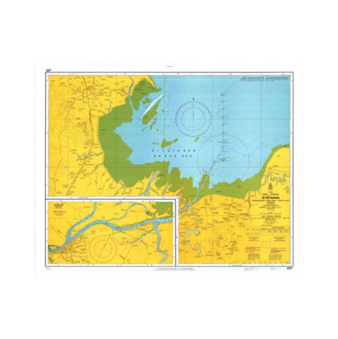 Marine Chart Thailand (Gulf of Thai - West) 227 Ao Ban Don