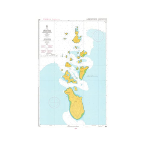 Marine Chart Thailand (Gulf of Thai - West) 273 Ang Thong lsland Ko Ta Lap to Thai Thlon