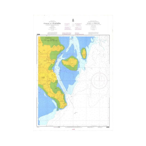 Marine Chart Thailand (Andaman) 335A Ao Man and  Approaches