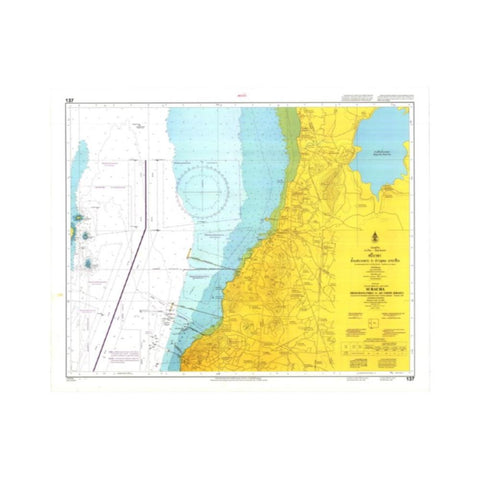Marine Chart Thailand (Gulf of Thai - East) 137 Si Racha Ao Udom to Bang Phra