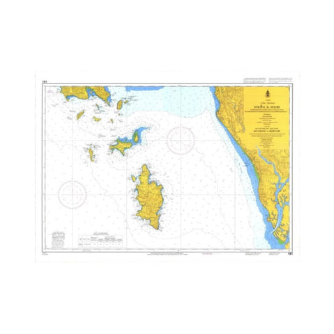 Marine Chart Thailand (Gulf of Thai - East) 151 Ko Chang to Koh Yor