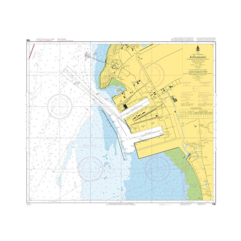 Marine Chart Thailand (Gulf of Thai - East) 156 Laem Chabang Port