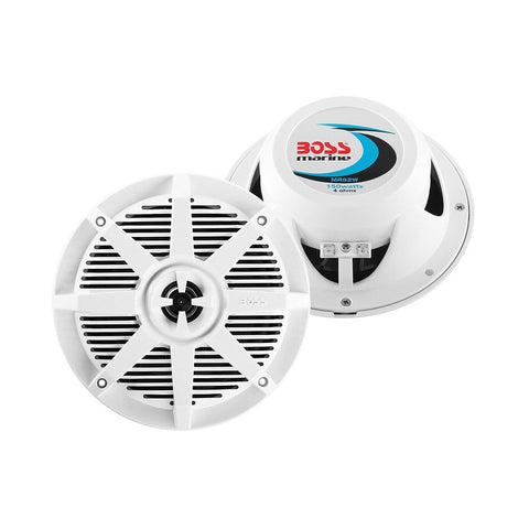 "Boss Marine 5.25"" Weatherproof 2-Way Marine Speaker"