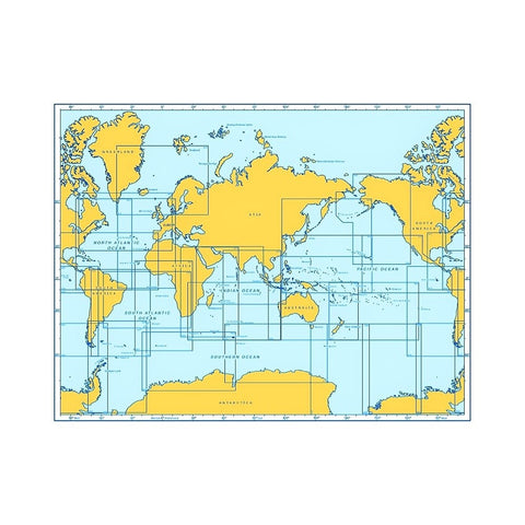 British Admiralty Nautical Chart (Print On-Demand)