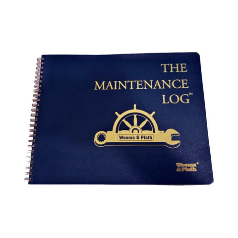 Weems & Plath The Maintenance Log Book