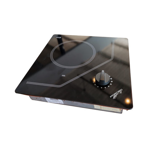 Force 10 1 Burner Ceramic Glass Electric Marine Cooktop