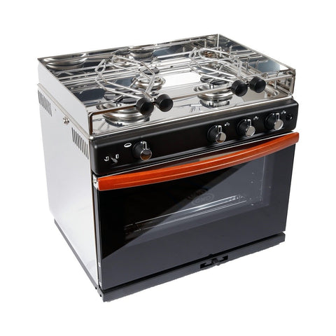 ENO Gascogne 3 Burner Gimbaled Marine Stove with Oven