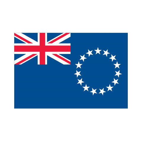 EMA International Flag - Cook Islands