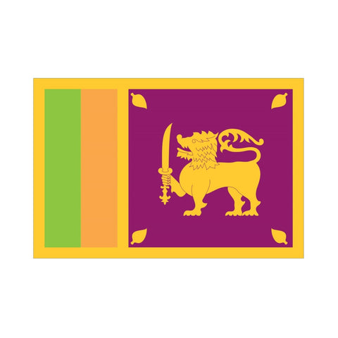 EMA International Flag - Sri Lanka