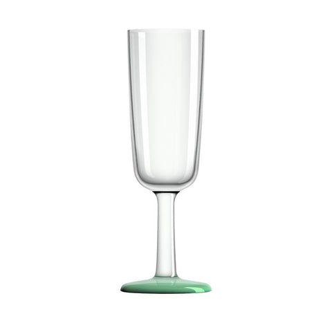 Palm Marc Newson Tritan Drinkware Collection Flute Glass with Non-slip Base