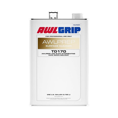 Awlgrip T0170 Awlprep 400 Slow Evaporating Wipe Down Solvent