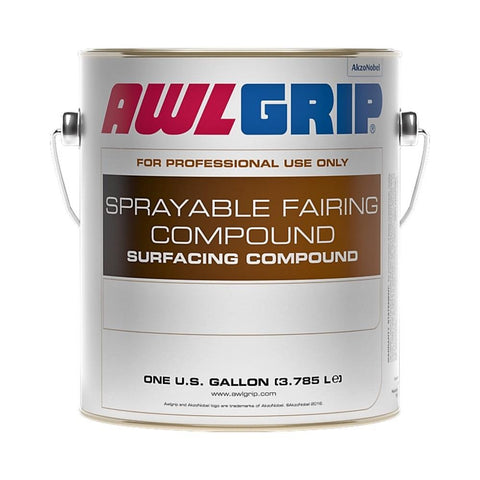 Awlgrip D6001 Epoxy Sprayable Fairing Compound