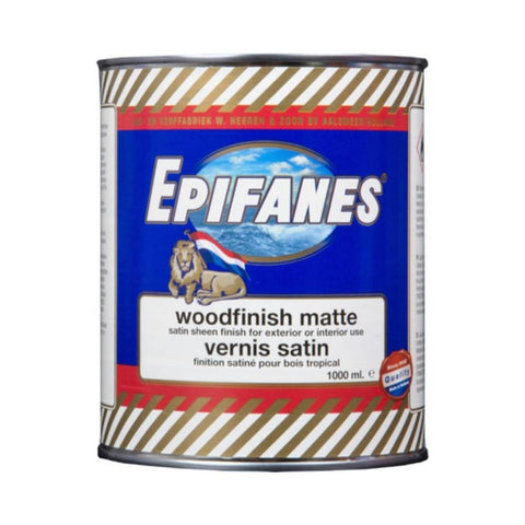 Epifanes Woodfinish Matte Varnish
