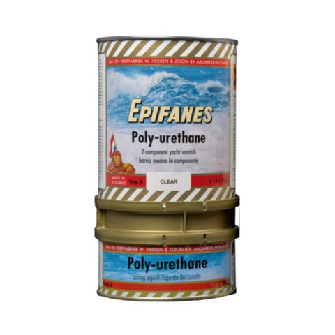 Epifanes Poly-urethane Clear Gloss Varnish
