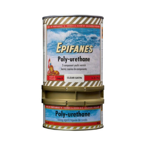 Epifanes Poly-urethane Clear Satin Varnish