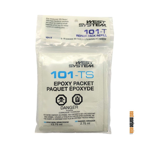 West System 101-T Resin & Hardener Repair Pack