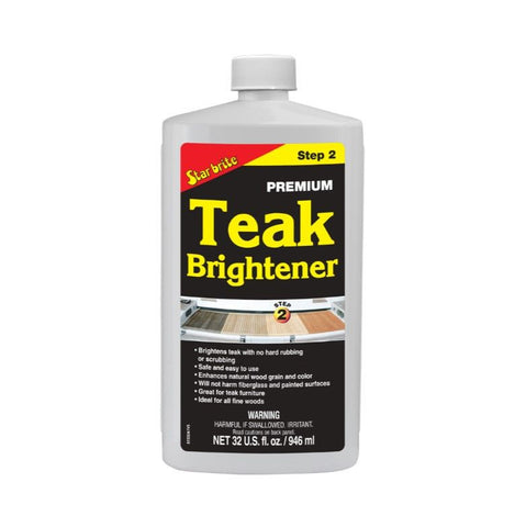 Star brite Premium Teak Brightener - Step 2