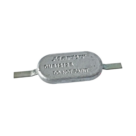 Martyr CM812125A Weld-on Hull Anode - Aluminium