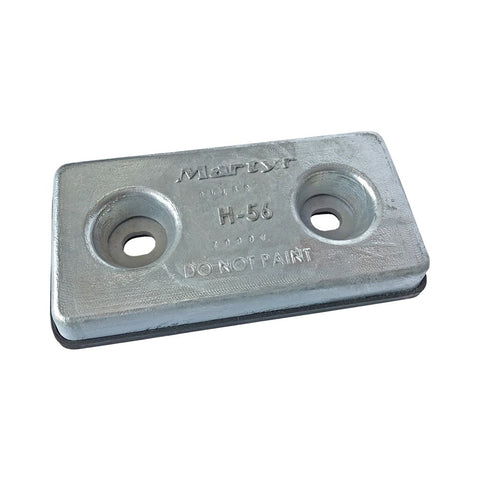Martyr JDH56GBZ Bolt-on Hull Anode - Zinc