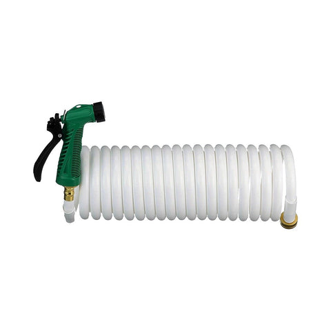 Seachoice Coiled Washdown Hose with Sprayer