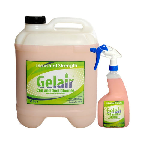 Gelair Tea Tree Oil Coil & Duct Cleaner Industrial Strength