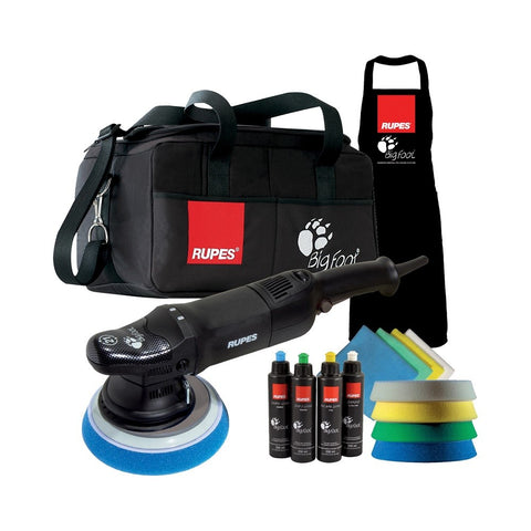 Rupes BigFoot LHR 21ES Random Orbital Polisher DLX Kit