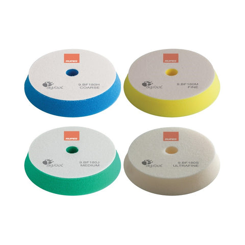 Rupes BigFoot 150 - 180 mm Foam Polishing Pads for Random Orbital and Triple Action Polishers