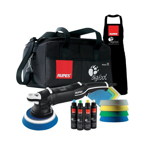 Rupes BigFoot LHR 21 Mark III Random Orbital Polisher DLX Kit