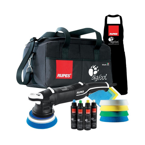 Rupes BigFoot LHR 15 Mark III Random Orbital Polisher DLX Kit