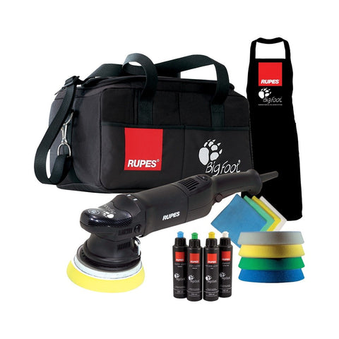 Rupes BigFoot LHR 15ES Random Orbital Polisher DLX Kit