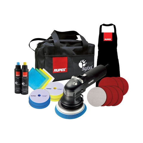 Rupes BigFoot LHR 12E Duetto Random Orbital Polisher DLX Kit