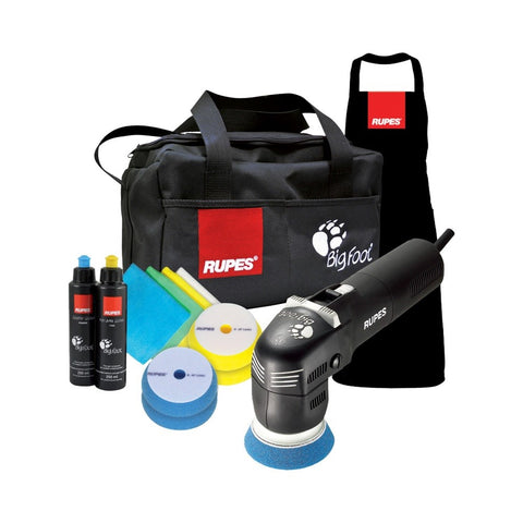 Rupes BigFoot LHR 75E Mini Random Orbital Polisher DLX Kit