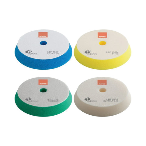 Rupes BigFoot 130 - 150 mm Foam Polishing Pads for Random Orbital and Triple Action Polishers